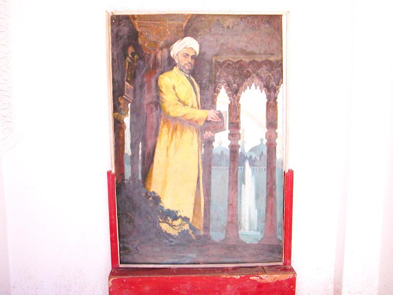 シルクロード一人旅「我的長征2006」その11・カシュガル・ユスフ-ハズ-ジャジェブ墓-1125