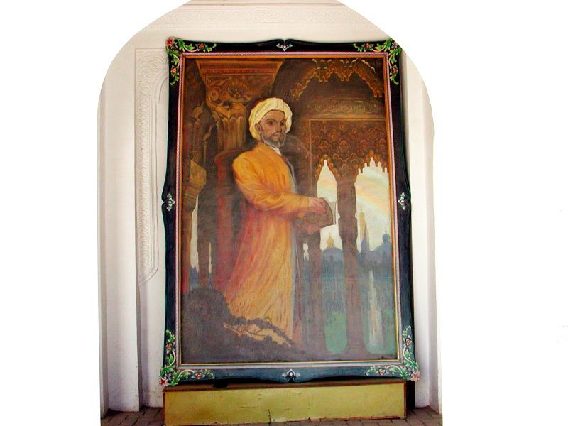 シルクロード一人旅「我的長征2006」その11・カシュガル・ユスフ-ハズ-ジャジェブ墓-1126