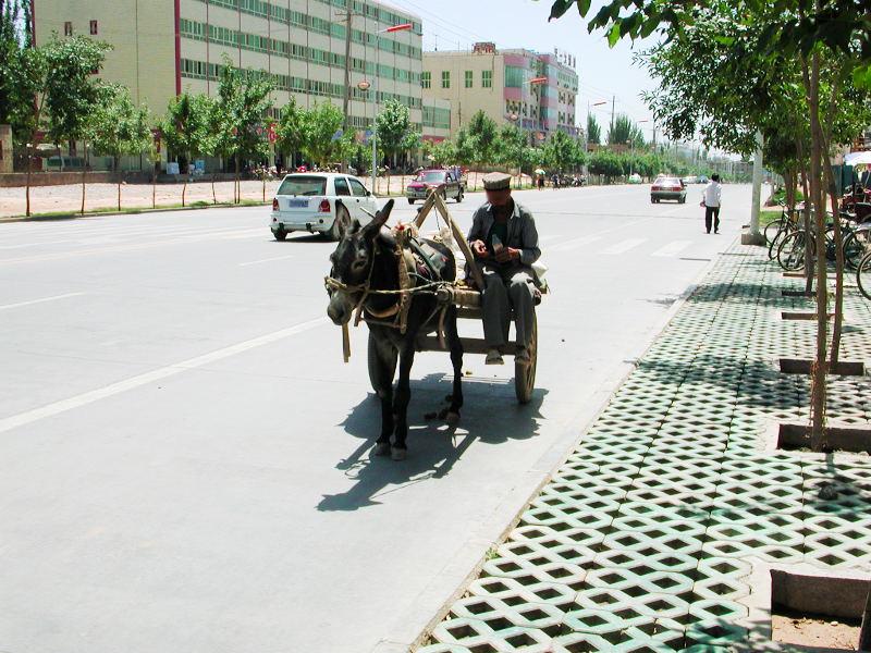 シルクロード一人旅「我的長征2006」その12・カシュガル・盤槖城-1204