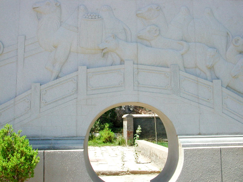 シルクロード一人旅「我的長征2006」その12・カシュガル・盤槖城-1215