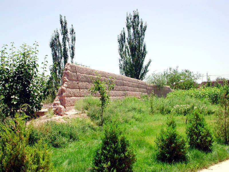シルクロード一人旅「我的長征2006」その12・カシュガル・盤槖城-1216