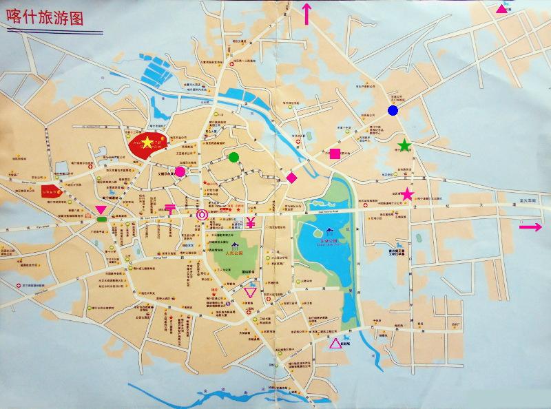 シルクロード一人旅「我的長征2006」その14・カシュガル・老城を歩く-1403