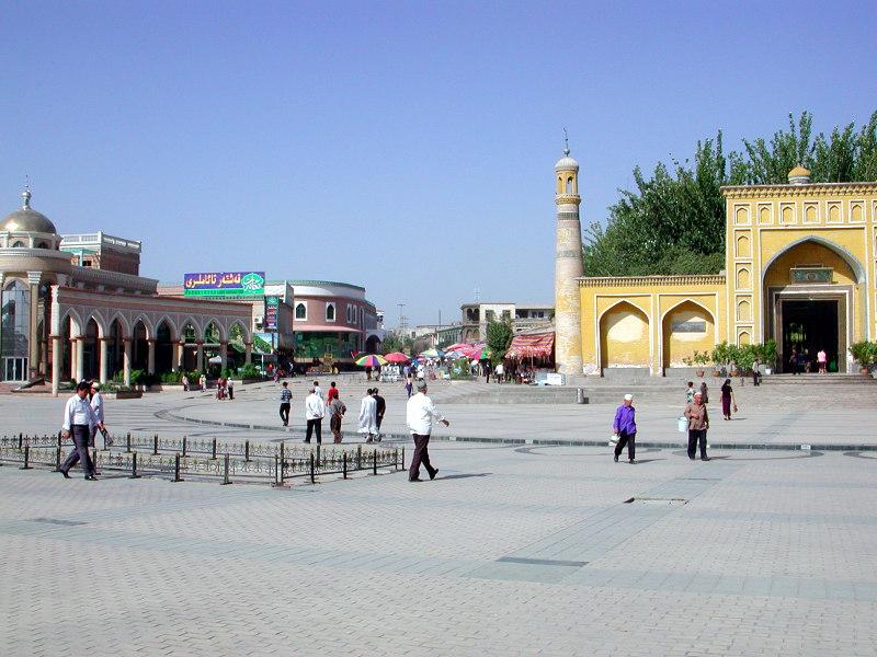 シルクロード一人旅「我的長征2006」その14・カシュガル・老城を歩く-1404