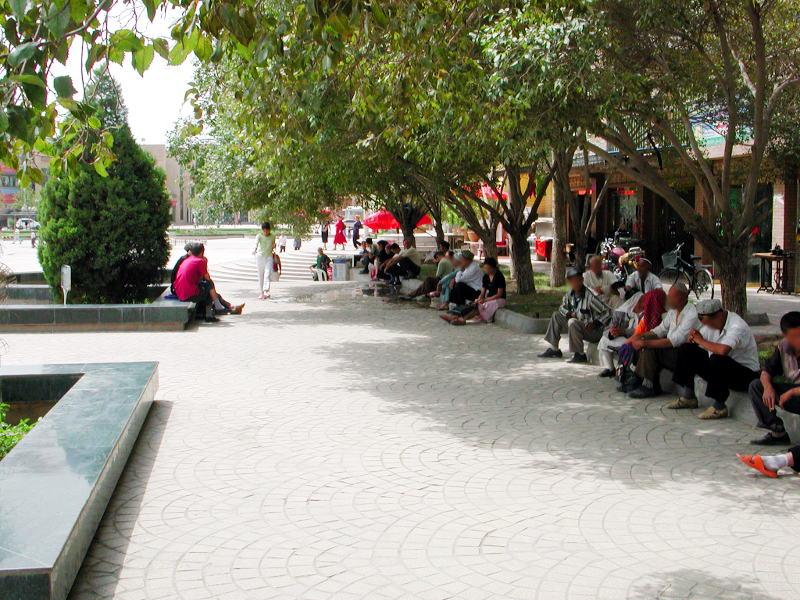 シルクロード一人旅「我的長征2006」その14・カシュガル・老城を歩く-1408