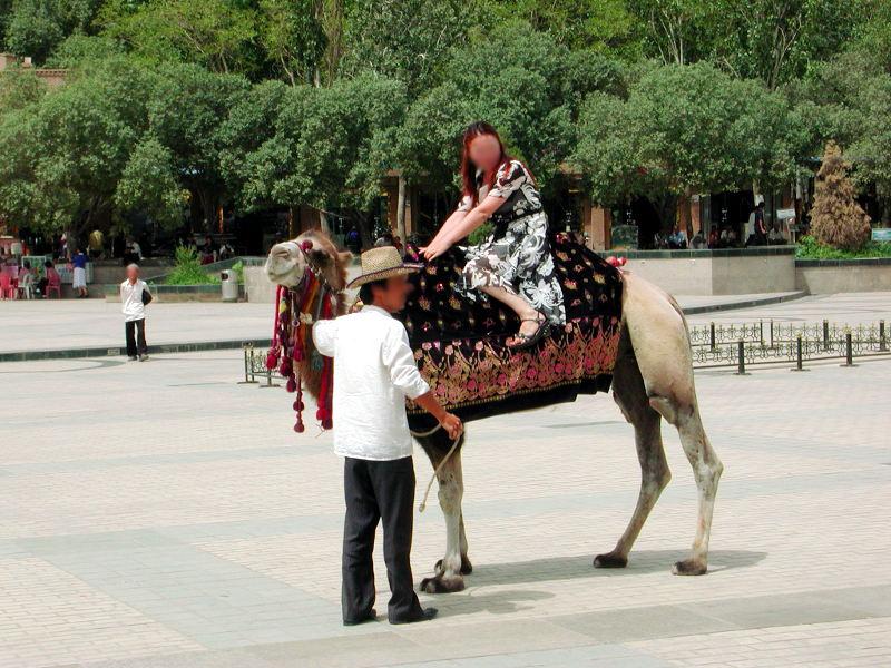 シルクロード一人旅「我的長征2006」その14・カシュガル・老城を歩く-1409