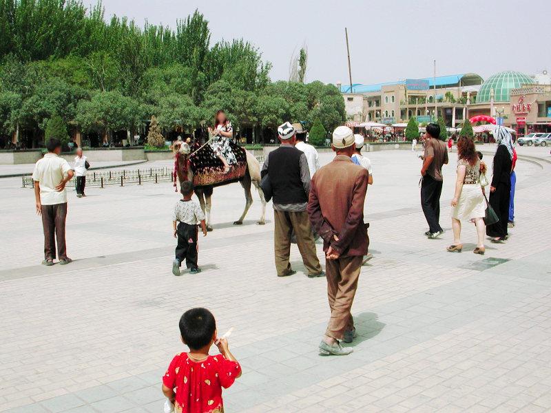 シルクロード一人旅「我的長征2006」その14・カシュガル・老城を歩く-1410