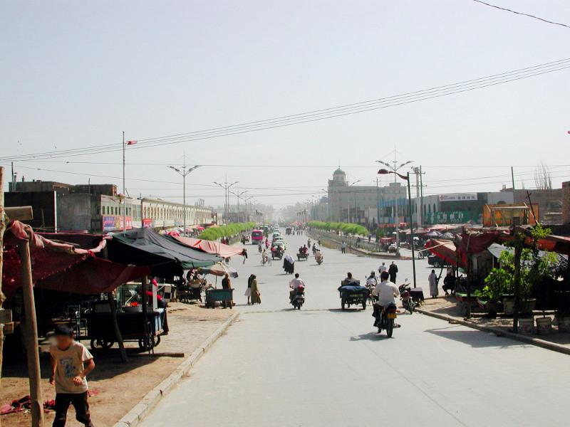 シルクロード一人旅「我的長征2006」その14・カシュガル・老城を歩く-1420