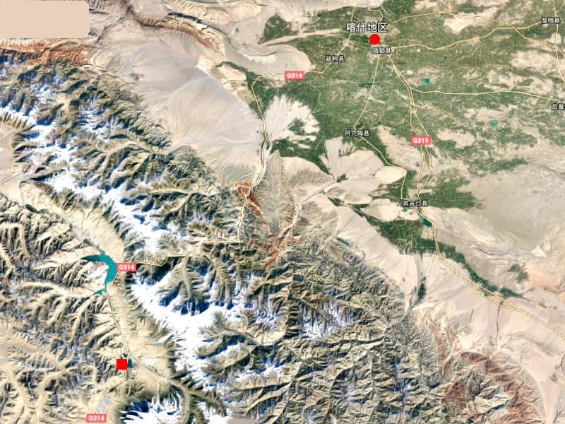 シルクロード一人旅「我的長征2006」その15・カシュガル・カラクリ湖への道-1503