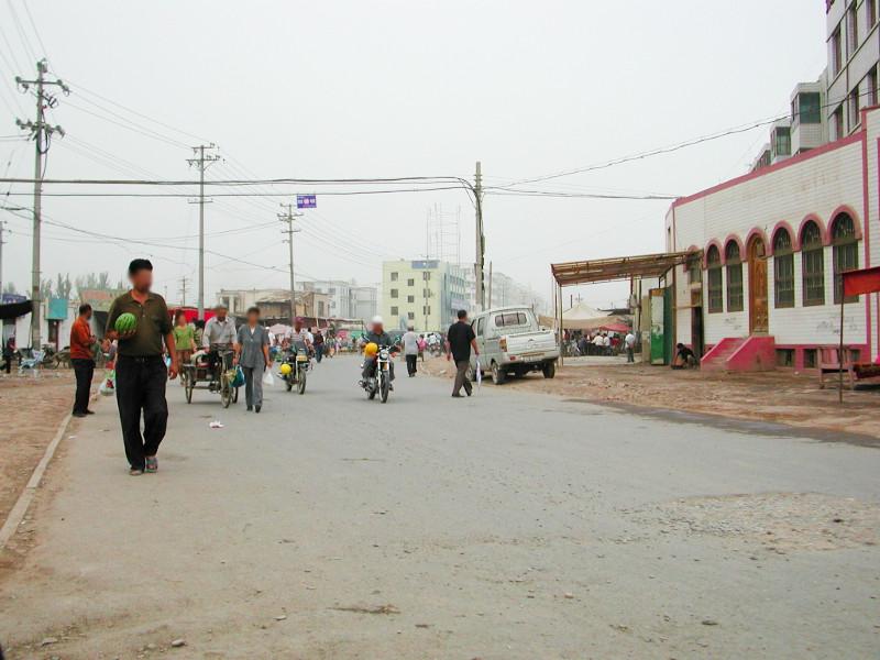 シルクロード一人旅「我的長征2006」その15・カシュガル・カラクリ湖への道-1508