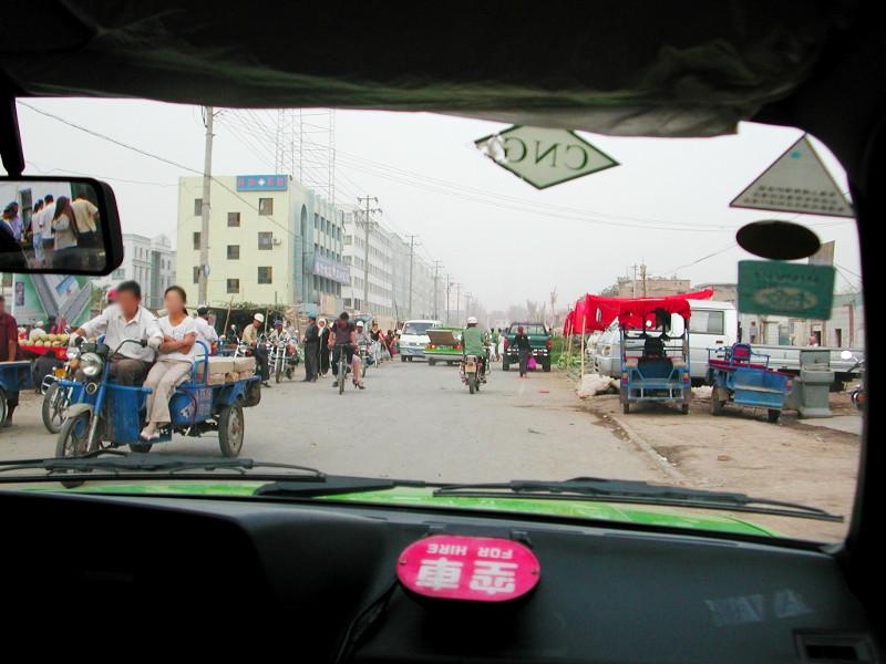 シルクロード一人旅「我的長征2006」その15・カシュガル・カラクリ湖への道-1509