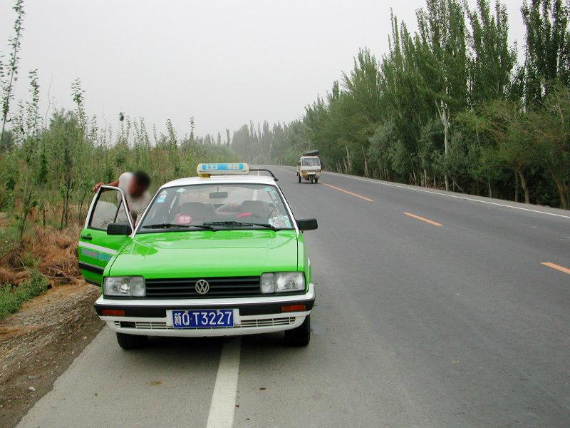シルクロード一人旅「我的長征2006」その15・カシュガル・カラクリ湖への道-1514