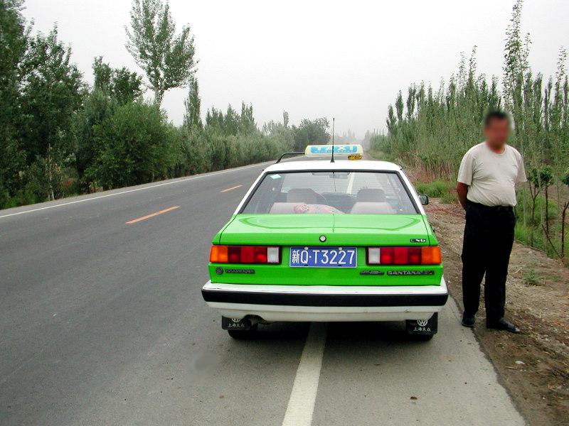 シルクロード一人旅「我的長征2006」その15・カシュガル・カラクリ湖への道-1515