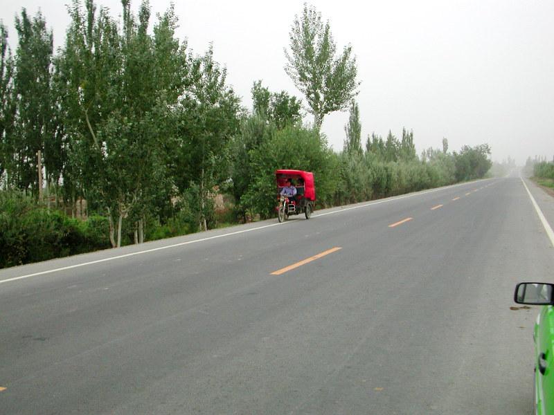 シルクロード一人旅「我的長征2006」その15・カシュガル・カラクリ湖への道-1516