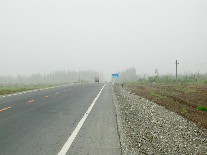 シルクロード一人旅「我的長征2006」その15・カシュガル・カラクリ湖への道-1518