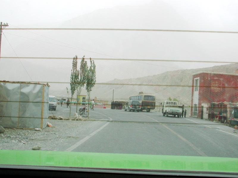 シルクロード一人旅「我的長征2006」その15・カシュガル・カラクリ湖への道-1525