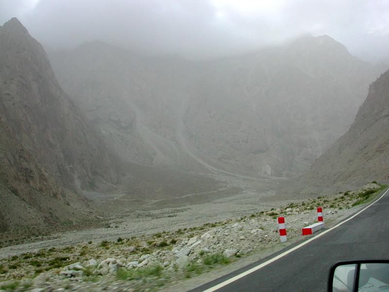 シルクロード一人旅「我的長征2006」その15・カシュガル・カラクリ湖への道-1535