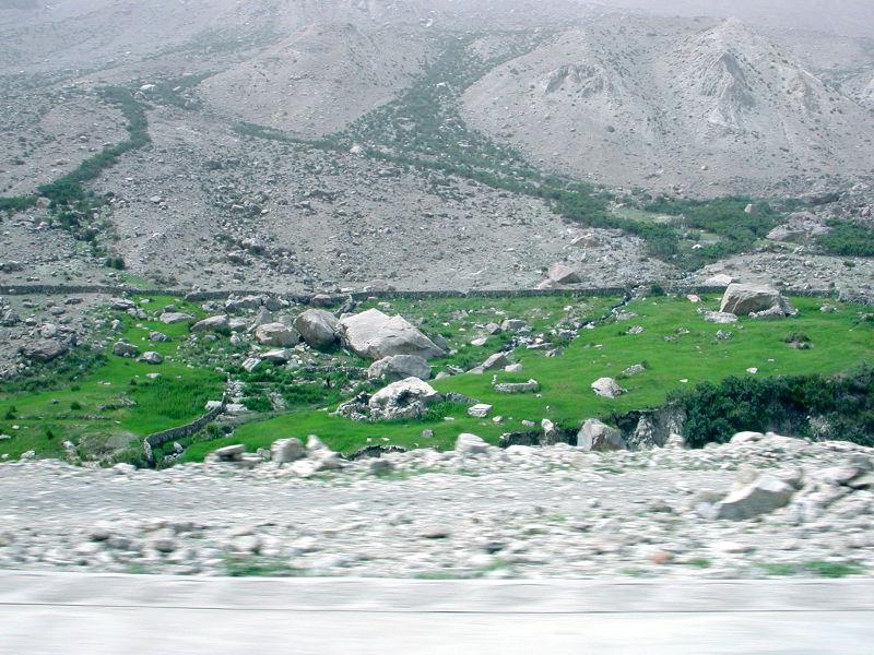 シルクロード一人旅「我的長征2006」その15・カシュガル・カラクリ湖への道-1542