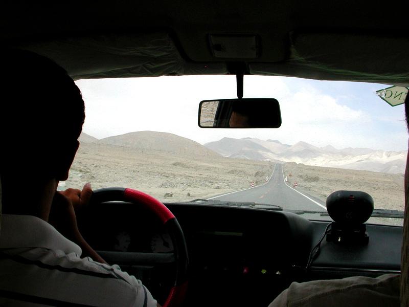 シルクロード一人旅「我的長征2006」その16・ブルンクル湖と絶景-1613