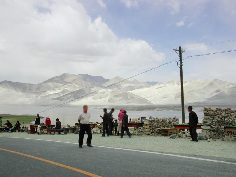 シルクロード一人旅「我的長征2006」その16・ブルンクル湖と絶景-1621