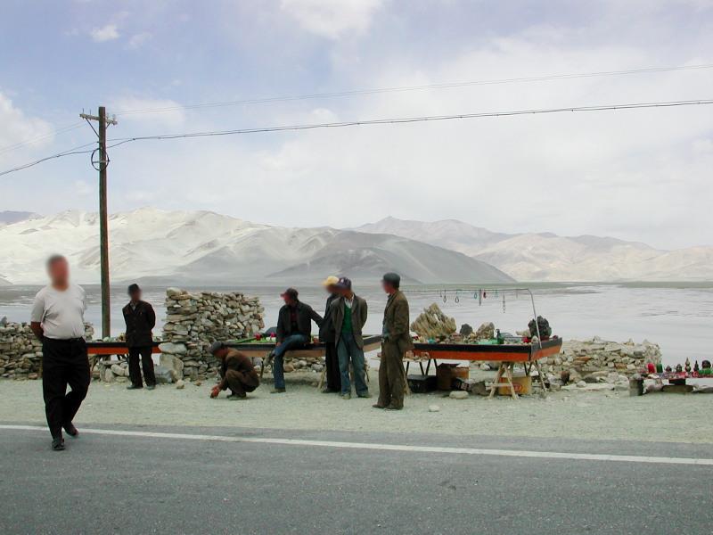 シルクロード一人旅「我的長征2006」その16・ブルンクル湖と絶景-1622