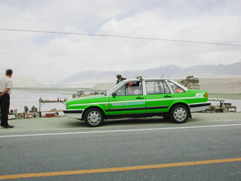 シルクロード一人旅「我的長征2006」その16・ブルンクル湖と絶景-1623