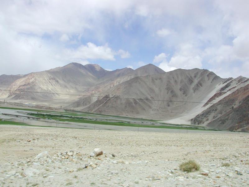 シルクロード一人旅「我的長征2006」その17・カラクリ湖-1706