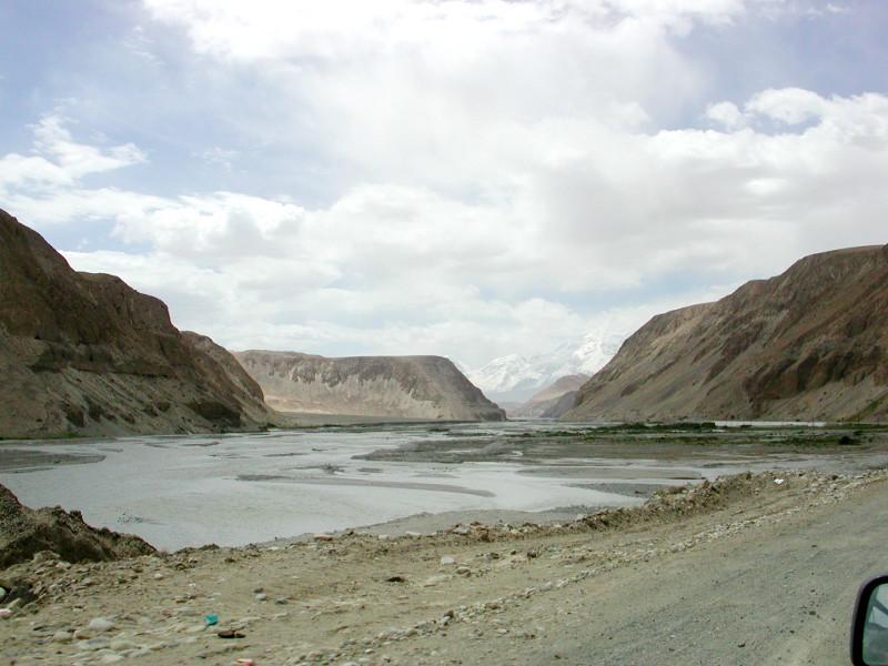 シルクロード一人旅「我的長征2006」その17・カラクリ湖-1715