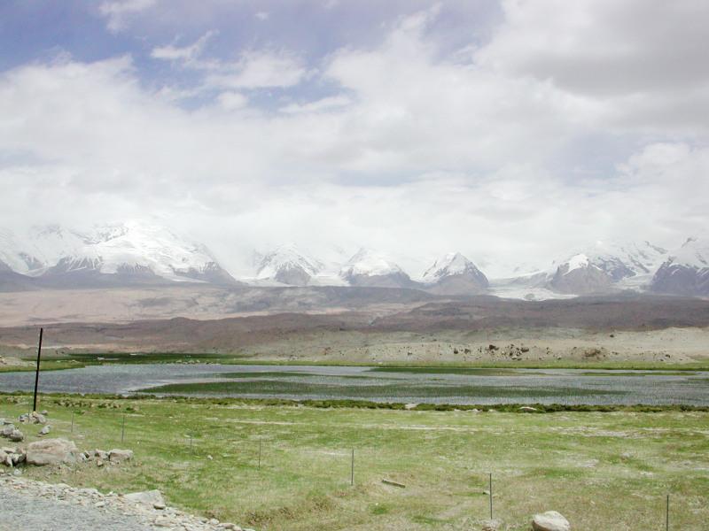 シルクロード一人旅「我的長征2006」その17・カラクリ湖-1718