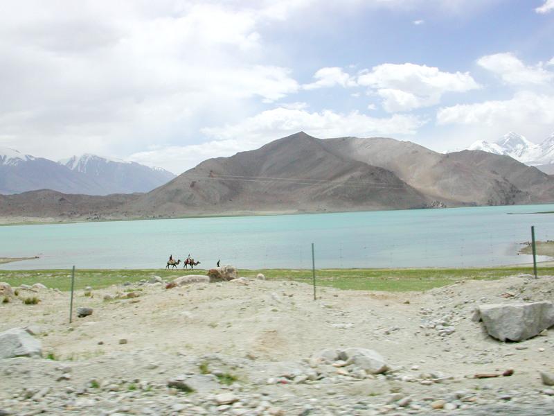 シルクロード一人旅「我的長征2006」その17・カラクリ湖-1721
