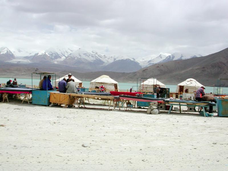 シルクロード一人旅「我的長征2006」その17・カラクリ湖-1725