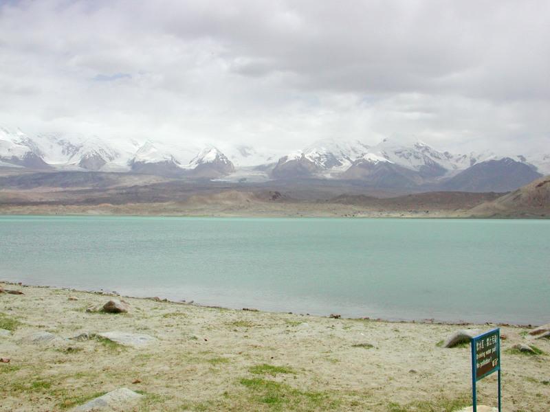シルクロード一人旅「我的長征2006」その17・カラクリ湖-1728