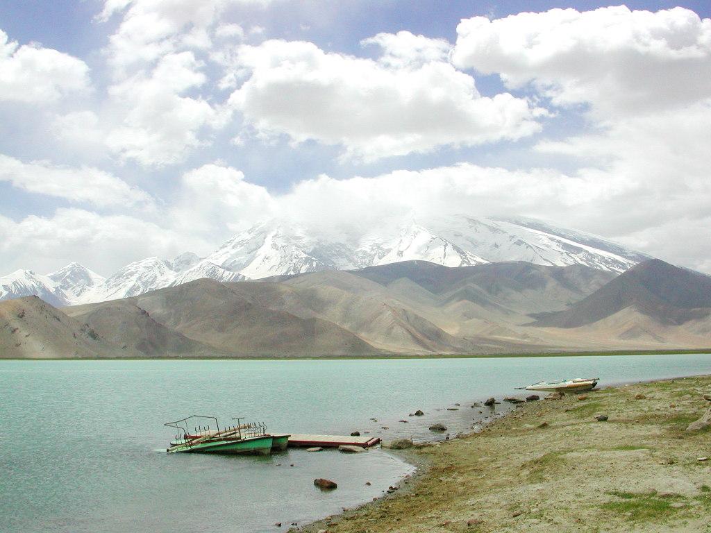シルクロード一人旅「我的長征2006」その17・カラクリ湖-1730