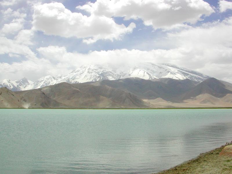 シルクロード一人旅「我的長征2006」その17・カラクリ湖-1734
