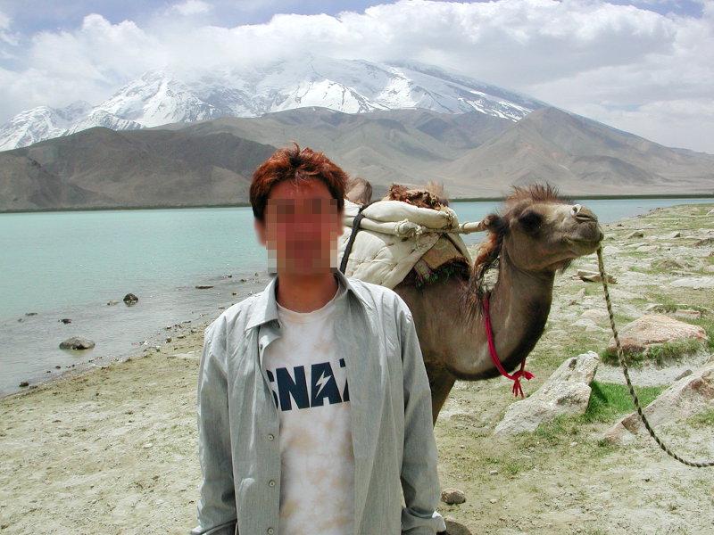 シルクロード一人旅「我的長征2006」その17・カラクリ湖-1735