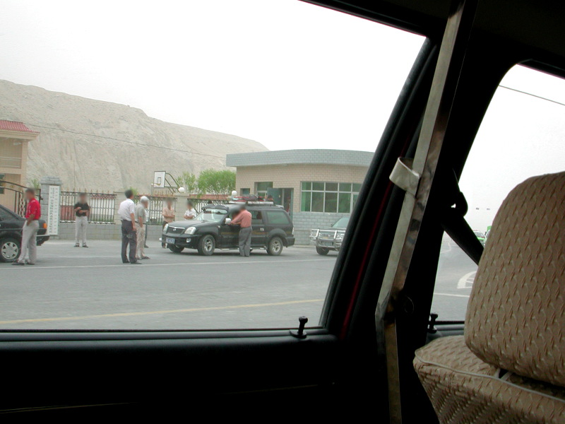 シルクロード一人旅「我的長征2006」その17・カラクリ湖-1738