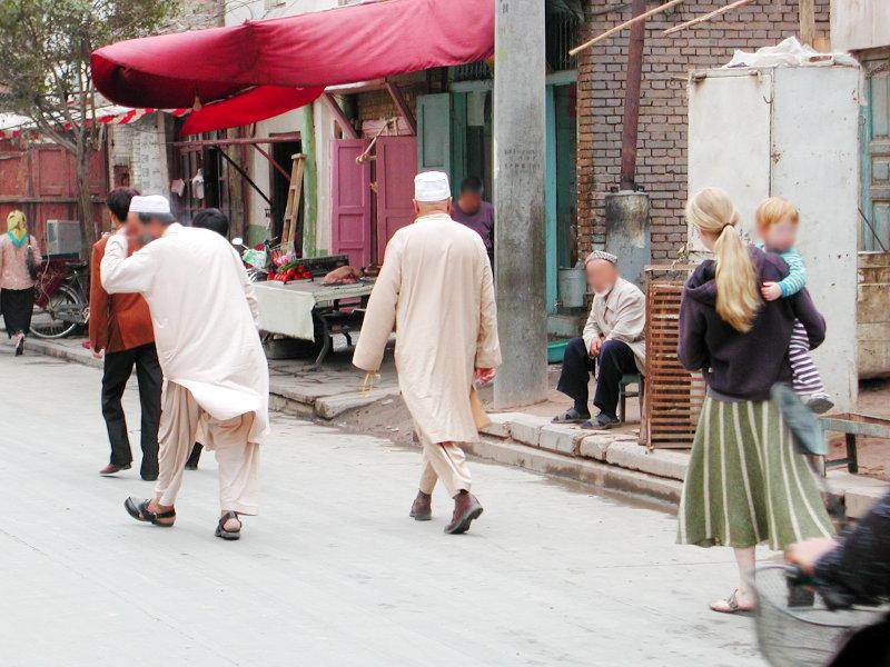 シルクロード一人旅「我的長征2006」その18・カシュガル・一人で老城探検-1803