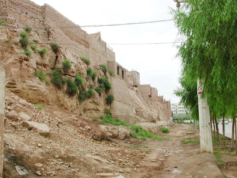 シルクロード一人旅「我的長征2006」その18・カシュガル・一人で老城探検-1811