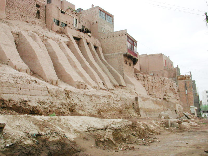 シルクロード一人旅「我的長征2006」その18・カシュガル・一人で老城探検-1812