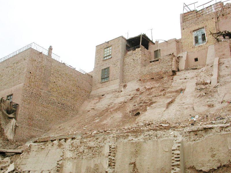 シルクロード一人旅「我的長征2006」その18・カシュガル・一人で老城探検-1813