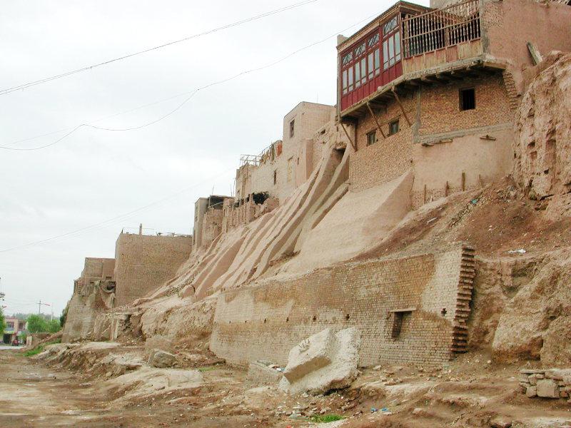 シルクロード一人旅「我的長征2006」その18・カシュガル・一人で老城探検-1814