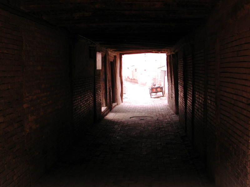 シルクロード一人旅「我的長征2006」その18・カシュガル・一人で老城探検-1817