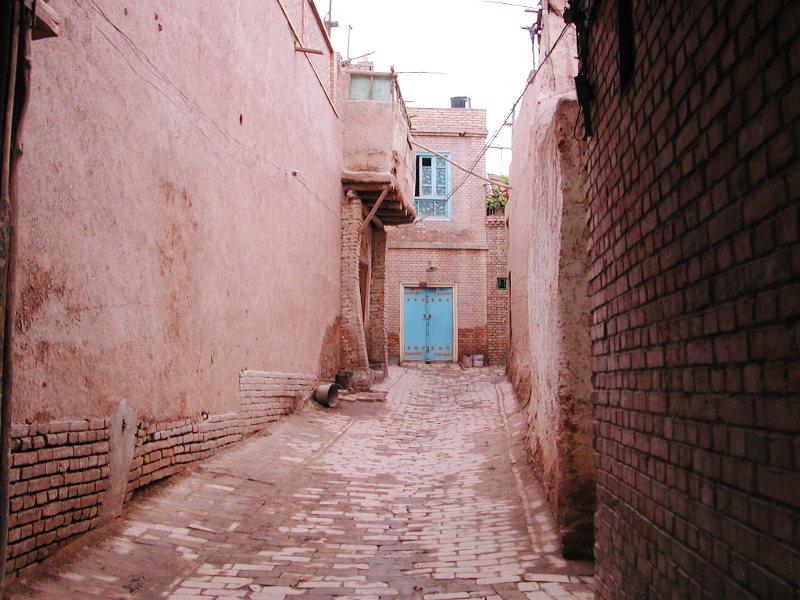 シルクロード一人旅「我的長征2006」その18・カシュガル・一人で老城探検-1823