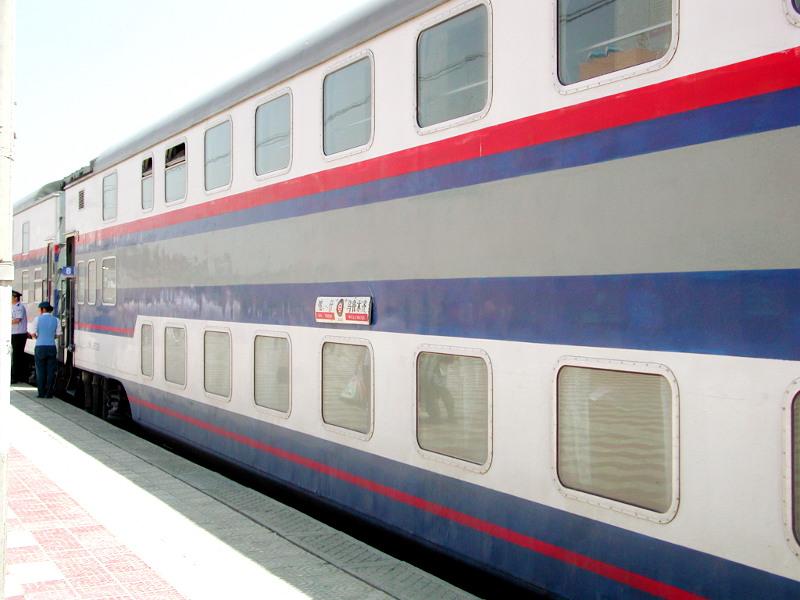 シルクロード一人旅「我的長征2006」その20・カシュガル・駅と寝台列車-2023