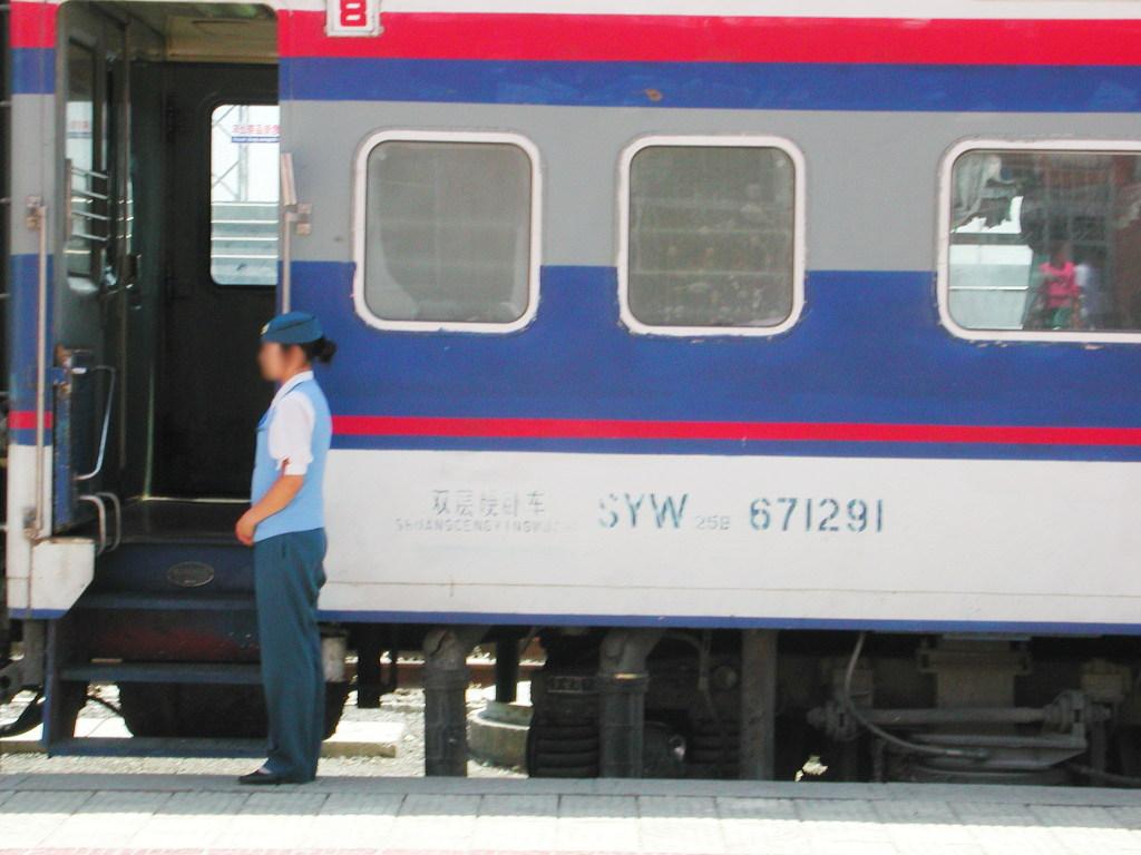 シルクロード一人旅「我的長征2006」その20・カシュガル・駅と寝台列車-2024