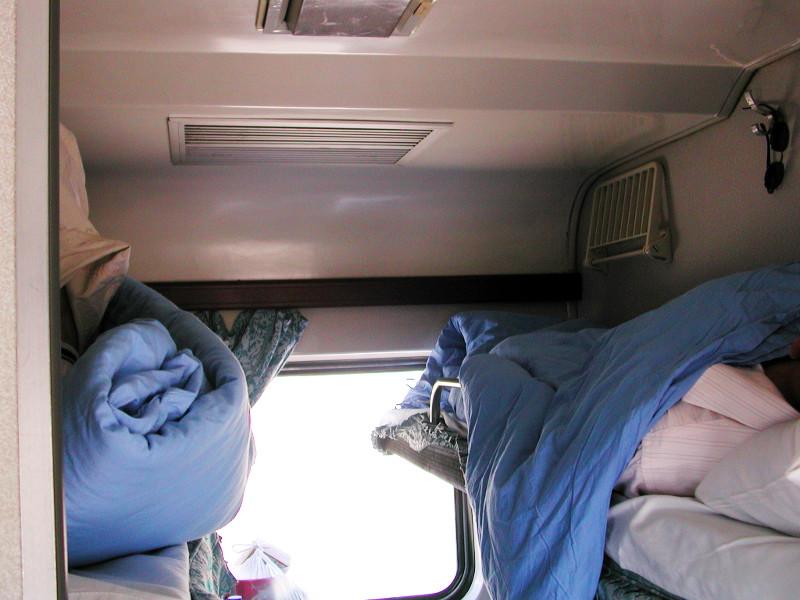 シルクロード一人旅「我的長征2006」その20・カシュガル・駅と寝台列車-2029