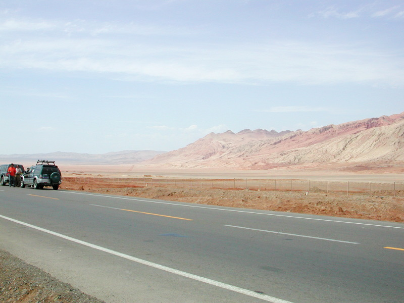 シルクロード一人旅「我的長征2006」その25・トルファン・火焔山-2507