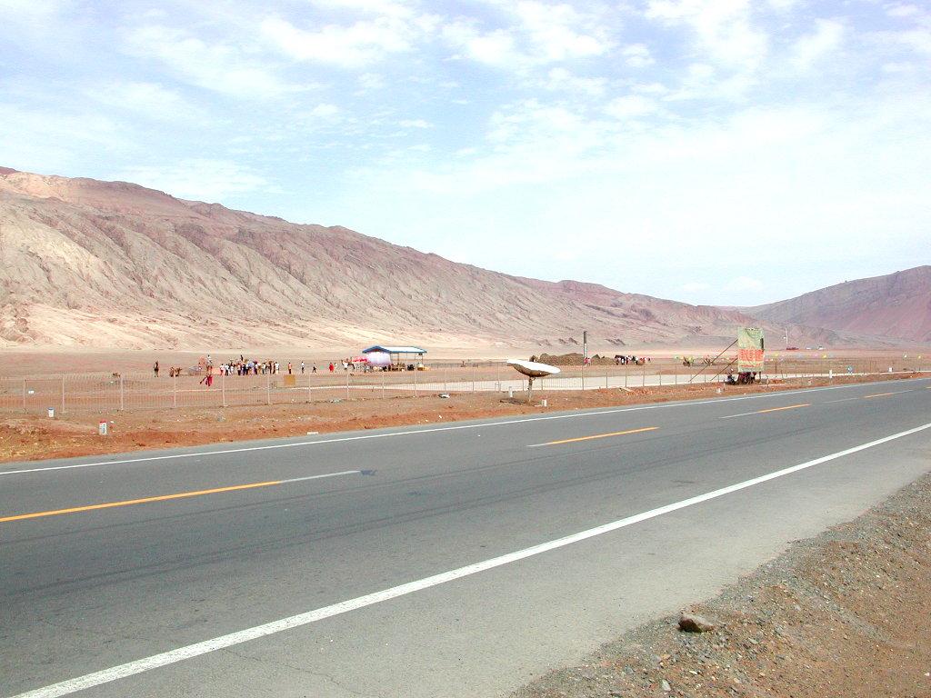 シルクロード一人旅「我的長征2006」その25・トルファン・火焔山-2509