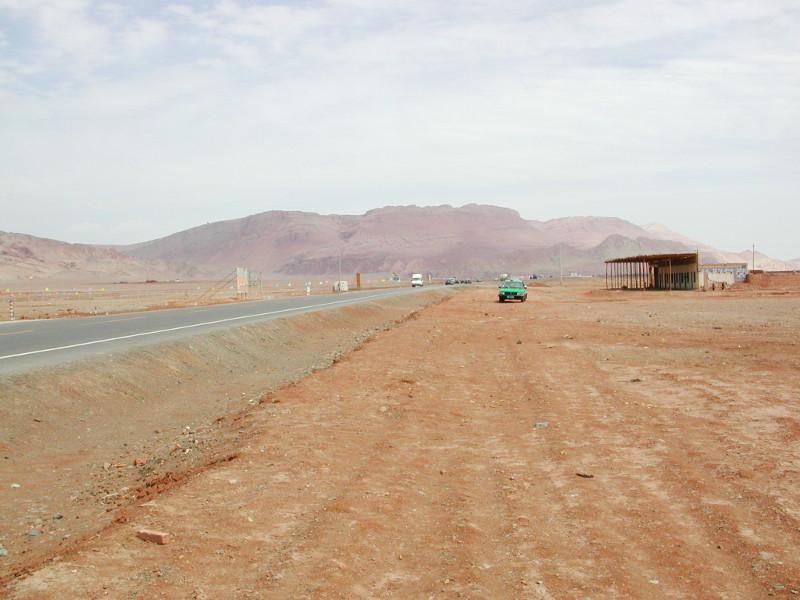 シルクロード一人旅「我的長征2006」その25・トルファン・火焔山-2510