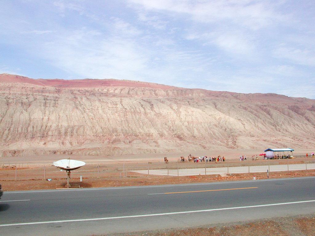 シルクロード一人旅「我的長征2006」その25・トルファン・火焔山-2512