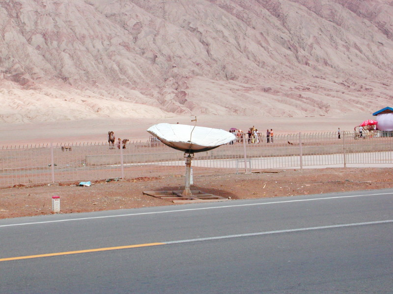 シルクロード一人旅「我的長征2006」その25・トルファン・火焔山-2513